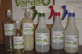 Vida Verde cleaning supplies