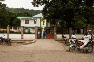 The hospital in Milot, Haiti