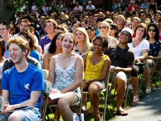 Tufts matriculation 2010