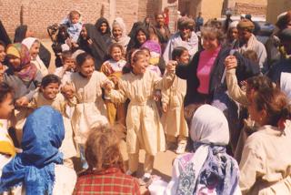 Monique Sternin in Egypt
